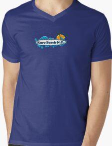 Kure Beach - North Carolina. Mens V-Neck T-Shirt