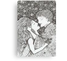 Kiss the Bride Canvas Print