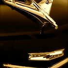 '56 Chevy Hood Ornament by TWindDancer
