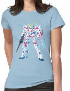 RX-0 Unicorn Gundam Womens Fitted T-Shirt