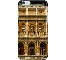 Hungarian State Opera House at Night, Budapest, Hungary iPhone Case/Skin