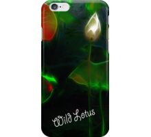 Wild Lotus iPhone Case/Skin
