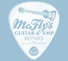 McFly's Repairs - White Kids Clothes