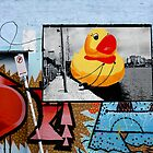 Grafitti Duck by steviebuk