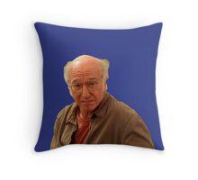 Larry David - Seinfeld Throw Pillow