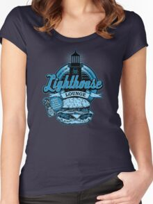 Lighthouse Lounge Women's Fitted Scoop T-Shirt