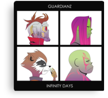 Guardianz: Infinity Days Canvas Print