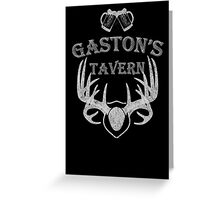 Gaston's Tavern Greeting Card