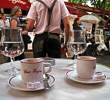 Chez Eugene, Montmartre, Paris. by Andrew Ferguson