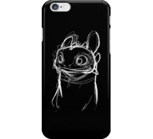 Toothlessketch iPhone Case/Skin