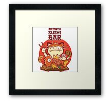 Sushi Bar Framed Print