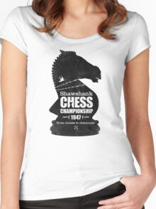 Shawshank Chess Comp Women's Fitted Scoop T-Shirt