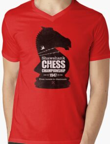 Shawshank Chess Comp Mens V-Neck T-Shirt