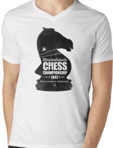Shawshank Chess Comp Mens V-Neck T-Shirt