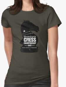 Shawshank Chess Comp Womens Fitted T-Shirt