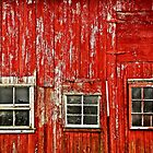 Windows on a Barn by cclaude