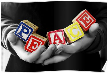 Peace .... it's in their hands. by Rosemary Scott