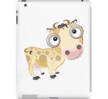 Mooo Cow Cartoon Character iPad Case/Skin