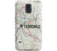 The Walking Dead - Terminus Map Samsung Galaxy Case/Skin