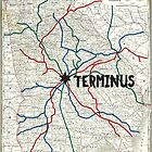 The Walking Dead - Terminus Map by Habubita