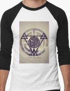 TSM Grunge Men's Baseball ¾ T-Shirt