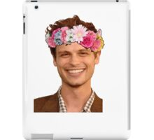 matthew gray gubler iPad Case/Skin