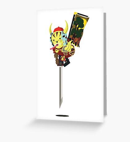 Trollshimitsu Greeting Card