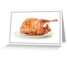 Roasted Turkey Dinner Greeting Card