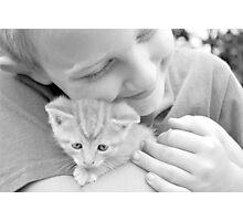 Cuddle Photographic Print