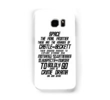 Castle The Final Frontier- v1a Samsung Galaxy Case/Skin