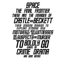 Castle The Final Frontier- v1a Photographic Print