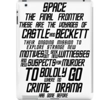 Castle The Final Frontier- v1a iPad Case/Skin