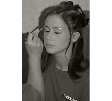 Putting On Makeup Photographic Print