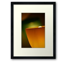 Contemporary Glow Framed Print