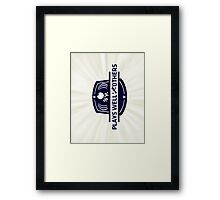 Plays well with others Framed Print