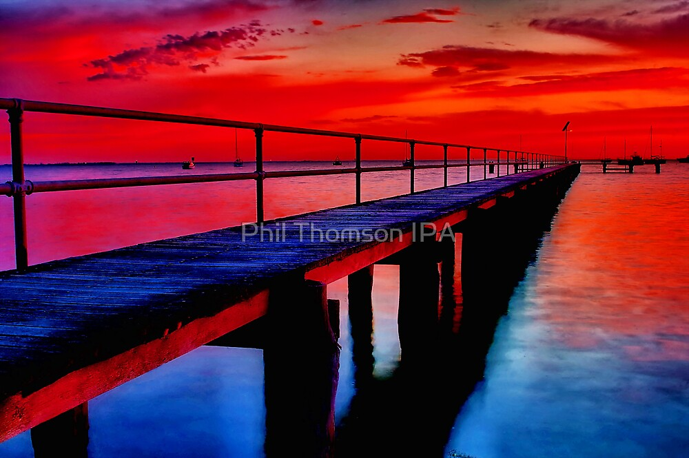 """""""Dawn at Griffin's Gully"""" by Phil Thomson IPA"""