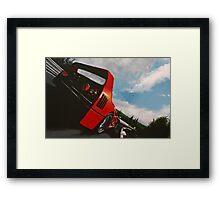 F40 @ the 'ring Framed Print