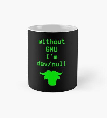 Without GNU I'm dev/null Mug