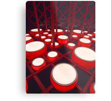 Red Drums Metal Print