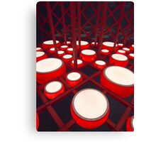 Red Drums Canvas Print