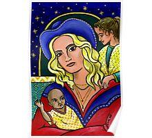 Modern Icons - Madonna & Children Poster