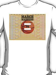March Basketball Bracket T-Shirt
