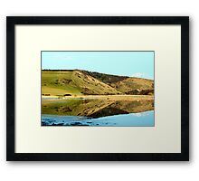 Cuckmere in Flood Framed Print