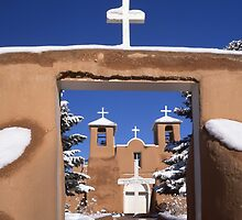 San Francisco de Asis Spanish Mission by Fred Young
