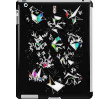 Digital Overlap - Positive Black iPad Case/Skin