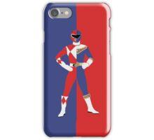Rocky - Blue / Red Ranger (1) iPhone Case/Skin