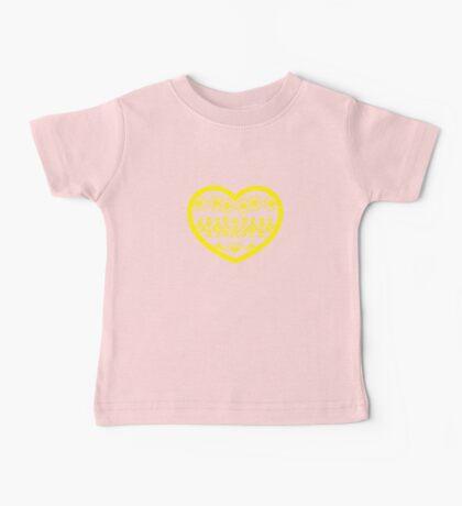 Love Ukraine - Vyshyvanka Heart Baby Tee