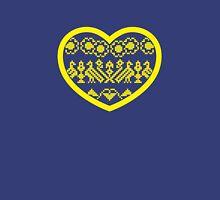 Love Ukraine - Vyshyvanka Heart T-Shirt