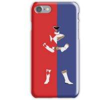 Rocky - Blue / Red Ranger (2) iPhone Case/Skin