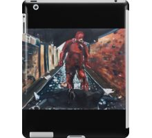Man Without Fear - Red iPad Case/Skin